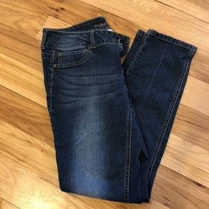 Maurices Mid rise Ankle Jeans